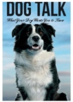 book cover dog talk